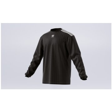adidas Langarmshirt schwarz