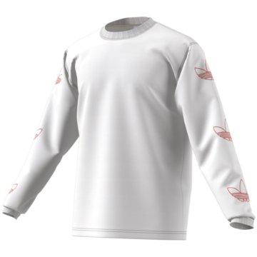 adidas Langarmshirt weiß