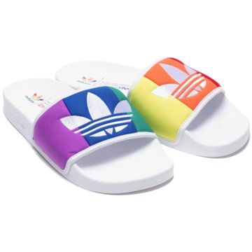 adidas BadelatscheADILETTE PRIDE weiß