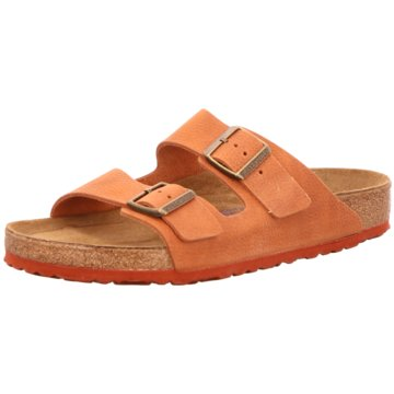 Birkenstock Pantolette orange