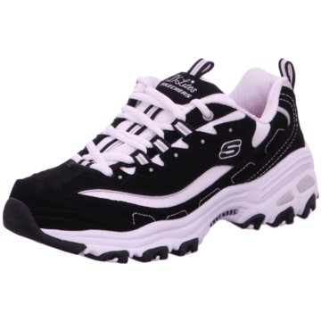 Skechers Sneaker LowD'Lites Biggest Fan schwarz