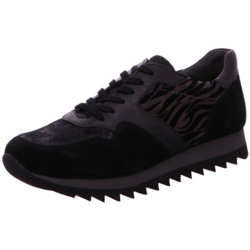 Gabor Komfort Schnürschuh schwarz