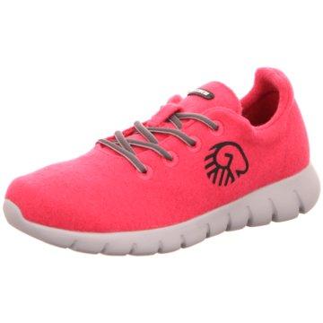 Giesswein Sportlicher SchnürschuhRunners Women pink