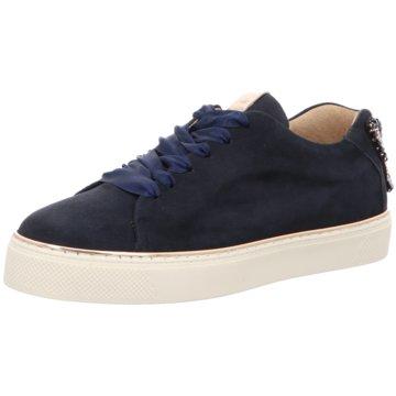 Alpe Woman Shoes Klassischer Schnürschuh blau