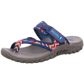 Skechers Bequeme Sandalen blau