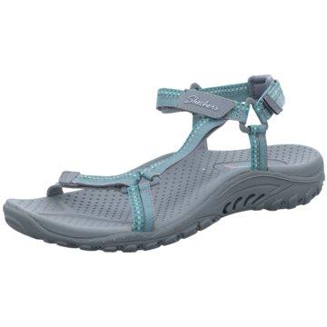Skechers Komfort Sandale grau