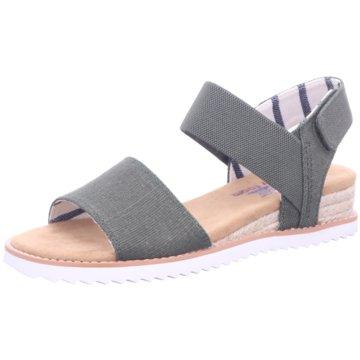 Skechers Komfort Sandale grün