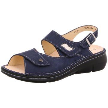 FinnComfort Bequeme Sandalen blau