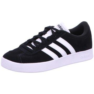 adidas Sneaker LowVL COURT 2.0 K - DB1827 schwarz