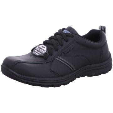 Skechers Bequeme Schnürschuhe schwarz