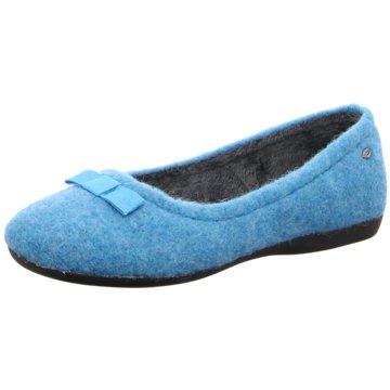 Romika Hausschuh blau