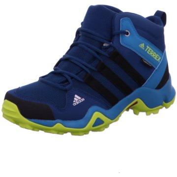 adidas Wander- & BergschuhTerrex AX2R Mid CP Kinder Outdoorschuhe blau gelb blau