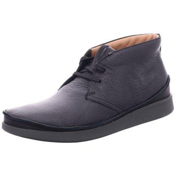 Clarks Komfort Stiefel schwarz