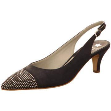 Maripé Top Trends Pumps schwarz