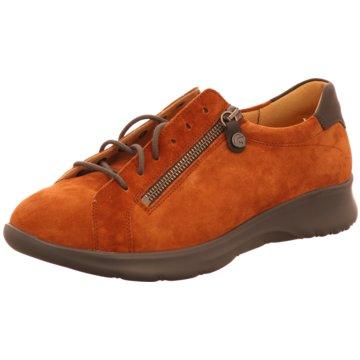 Ganter Komfort Schnürschuh orange