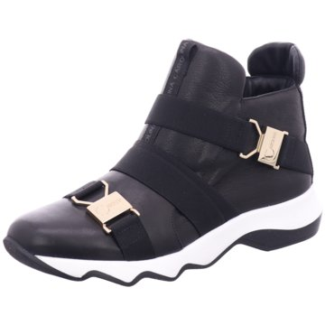 Donna Carolina Sneaker High schwarz