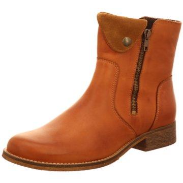 Online Shoes Klassische Stiefelette braun
