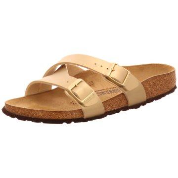 Birkenstock Klassische PantoletteYao Balance[Slipper] gold