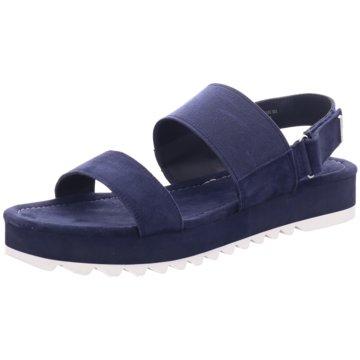 Marc O'Polo Plateau Sandalette blau
