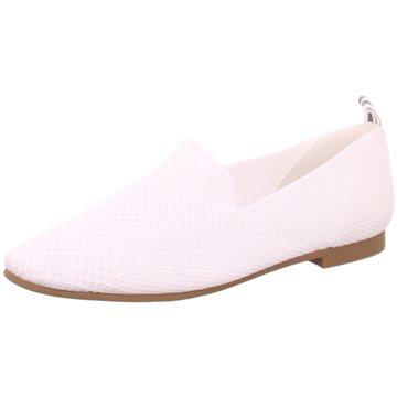 La Strada Klassischer Slipper weiß