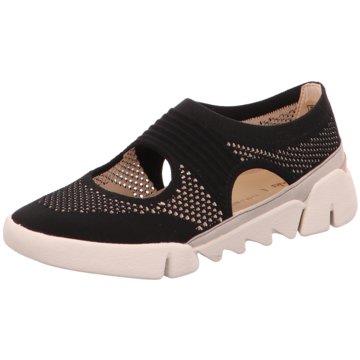 Clarks Komfort SandaleSlipper schwarz