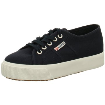 Superga Plateau SneakerCotu Women blau