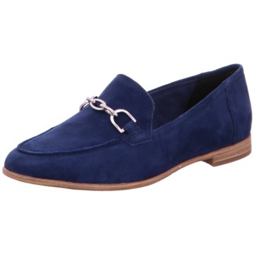 Tamaris Business Slipper blau