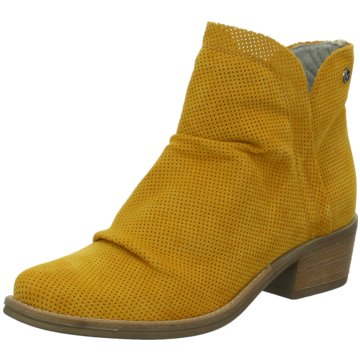 Tamaris Klassische Stiefelette gelb
