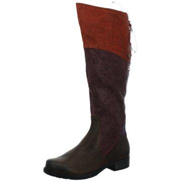 Think Klassischer Stiefel rot