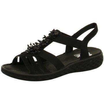 Rieker Komfort SandaleSandale schwarz