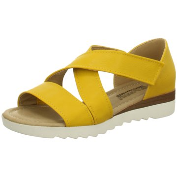 Sun & Shadow Sandale gelb