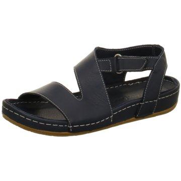 Andrea Conti Komfort Sandale blau