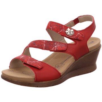 Romika Komfort Sandale rot
