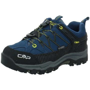 CMP Wander- & BergschuhKIDS RIGEL LOW TREKKING SHOES WP - 3Q13244 blau