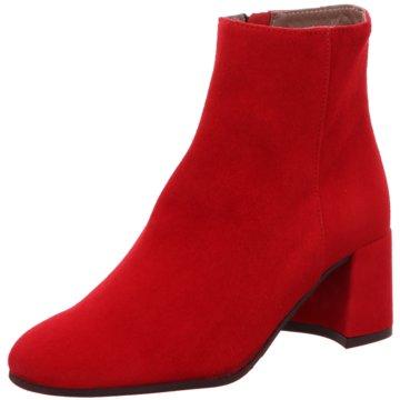 Maripé Klassische Stiefelette rot