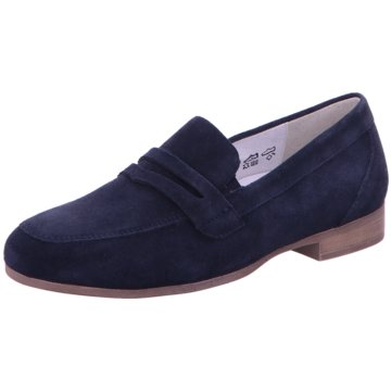 Waldläufer Business Slipper blau