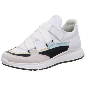 Ecco Sportlicher Slipper weiß