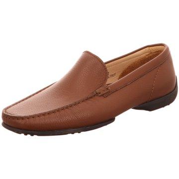 Confort Shoes Business Mokassin braun