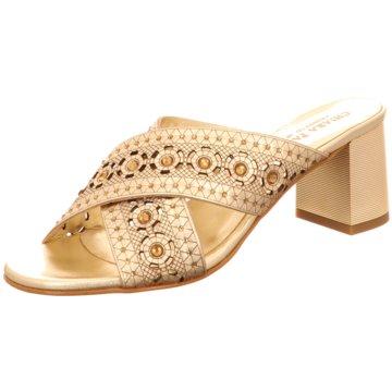 Chiara Pasquini Pantolette gold