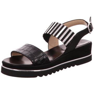 Luca Grossi Sandalette schwarz