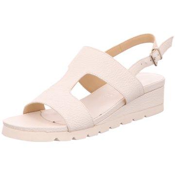 Legazelle Sandalette weiß