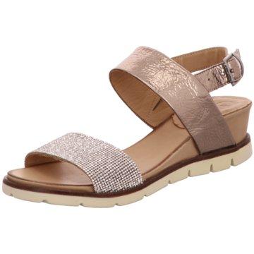 MACA Kitzbühel Komfort Sandale beige