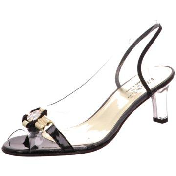 Azuree Sandalette schwarz