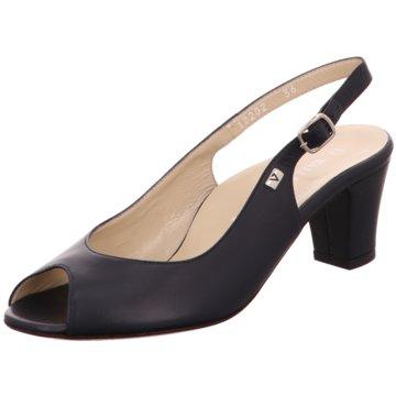 Valleverde Komfort Sandale schwarz