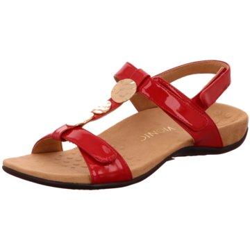 Vionic Komfort Sandale rot