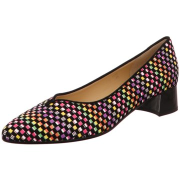 Brunate Flacher Pumps bunt