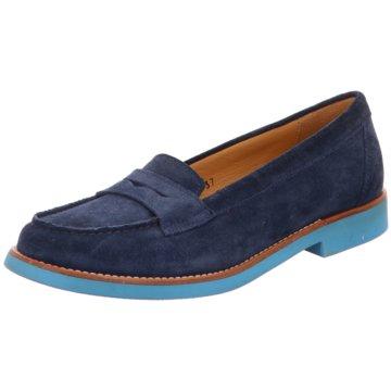 Confort Shoes Slipper blau