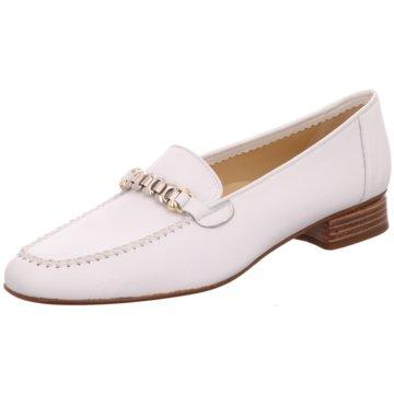 Brunate Klassischer Slipper weiß
