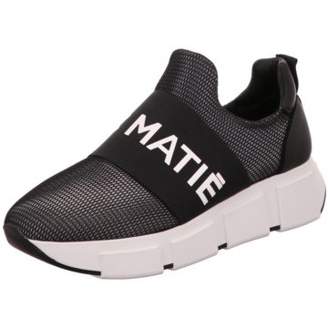 Vic Matié Plateau Slipper schwarz