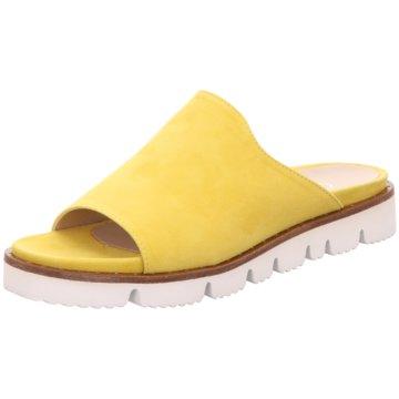 CC66 Pantolette gelb